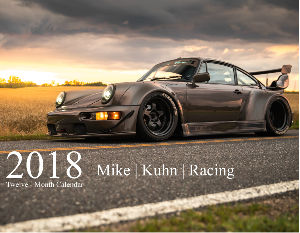 Mike Kuhn Racing 2018 Automotive Calendar