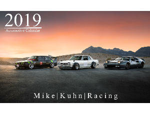 Mike | Kuhn | Racing - 2019 Automotive Calendar -