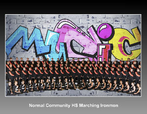 Normal Community HS Marching Ironmen