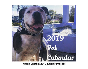 2019 Pet Calendar - Nadja's 2019 Senior Project