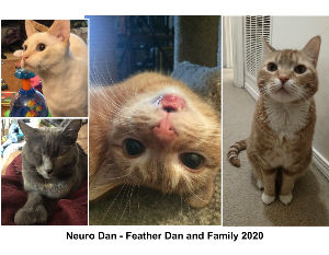 Neuro Dan - Feather Dan and Family 2020 calendar