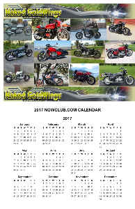 2017 Naked goldwings MC Poster