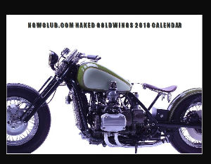 2018 NAKED GOLDWINGS NGWCLUB.COM CALENDAR