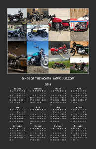 2019 NGWCLUB.COM GOLDWING WALL POSTER
