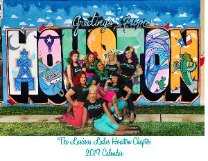 Houston Chapter The Luscious Ladies 2019 Calendar