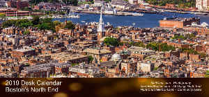 North End / Waterfront 2019 Desk Calendar