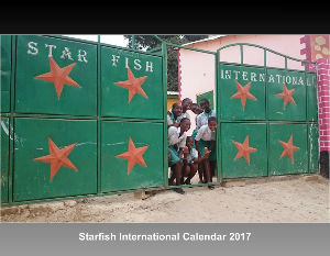Starfish International Calendar 2017