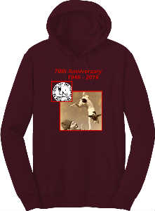70th Anniv Hoodie 2020  With Border