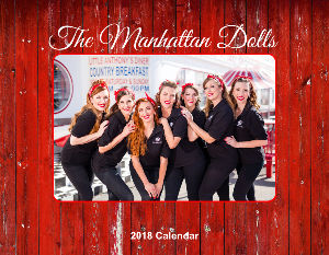 The Manhattan Dolls 2018 Calendar