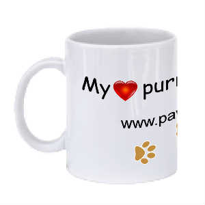 My Heart Purrs Mug