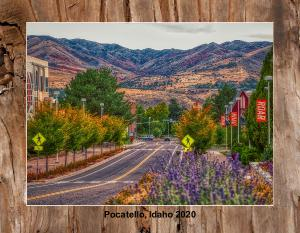 A year in Pocatello, Idaho