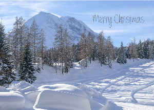 Christmas greetings from Austria