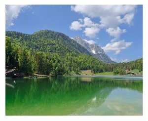 Bavaria LAUTERSEE - the green lake