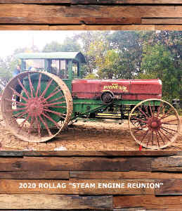 2020 ROLLAG STEAM AND GAS ENGINE FESTIVAL