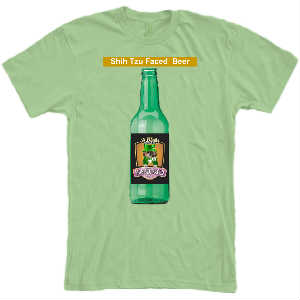Shih Tzu Faced Beer T