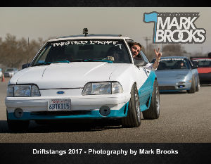 2017 Drift Mustangs calendar