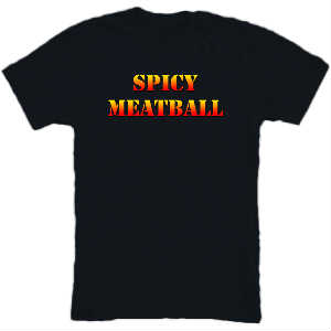 Lil Pickles Spicy Meatball Tee