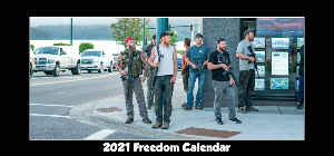 2021 North Idaho Freedom Desk Calendar