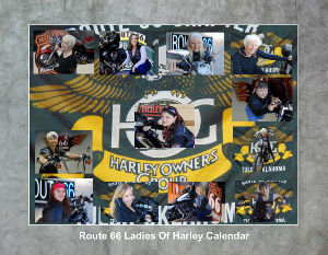 Rt 66 Ladies of Harley