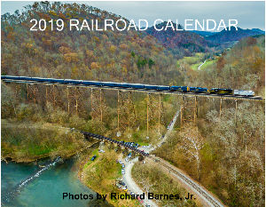 2019 Railroad Calendar