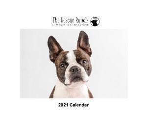 Rescue Ranch 2021 Calendar