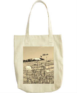 Country themed tote bag