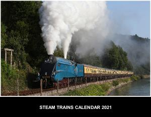 Steam Train Calendar 2018