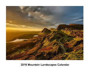 2018 Mountain Landscapes Calendar