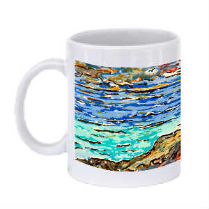 Alone by the Sea Mug (Day)