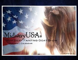 2020 Midway USA Mini Silky Fainting Goat Show
