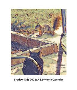 Shadow Tails 2021: A 12-Month Calendar