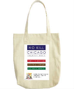 Famous Fido No Kill Chicago Tote Bag