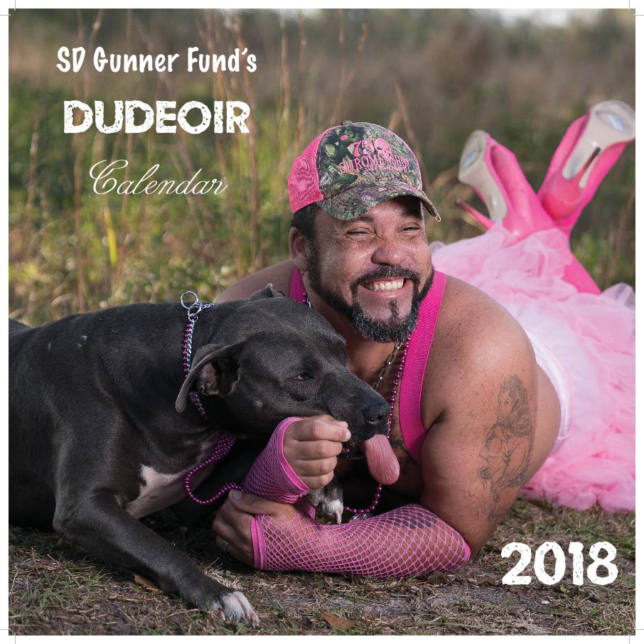 SD Gunner Fund 2018 Dudeoir Calendar