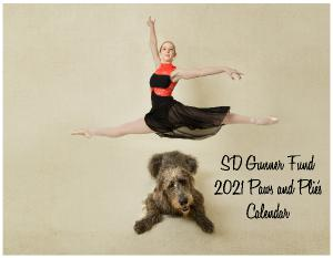 SD Gunner Fund 2021 Paws and Plie's Calendar