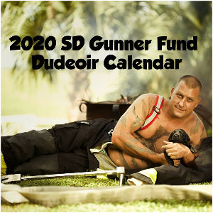 2020 SD Gunner Fund Dudeoir Calendar