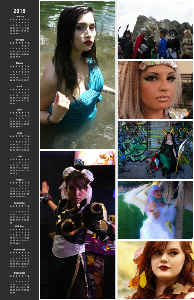 South Dakota Cosplayers Poster Calendar