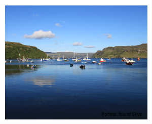 Harbour at Portree, Isle of Skye