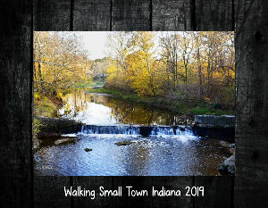 Walking Small Town Indiana 2019