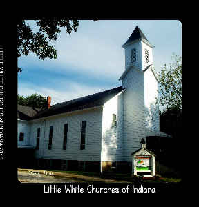 Little White Churches of Indiana Book 2016