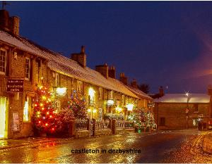castleton in derbyshire  old english town