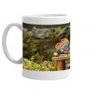 George the Mouse in a Log Pile House mug