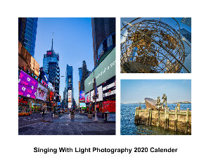 Singing with Light 2020 Calender