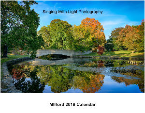 2018 Milford CT wall Calender