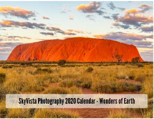 A1 Wall Calendar SkyVista Photography 2020