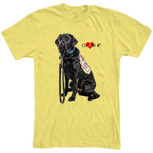 Charlie Love Yellow Tee