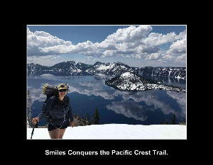 Smiles Conquers the PCT