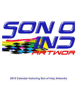 Son of Indy Artworks 2019 CD Calendar