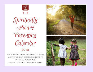Spiritually Aware Parenting  Wall Calendar