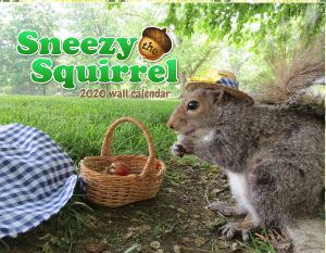 Sneezy the Squirrel 2020 Calendar