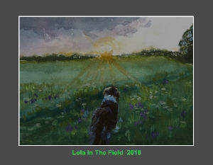 Lola In The Field Calendar